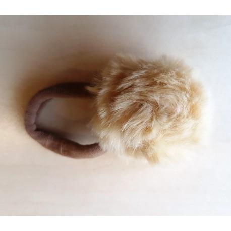 Siena: Резинка для волос с помпоном