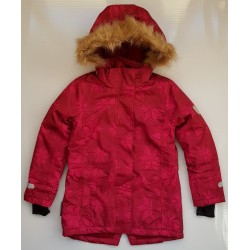 T2H: Parka Mary with detachable hood allover