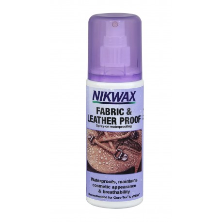 NIKWAX: NIKWAX Fabric & Leather Spary-on 125 ml средство для ухода за обувью