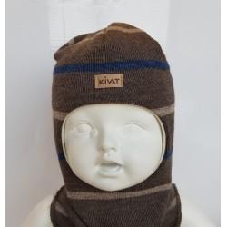 KIVAT Striped hood