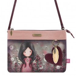 Santoro: Gorjuss -Double Pouch Cross Body Bag-Little Wings