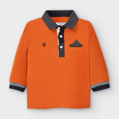 Mayoral: L/s printed polo