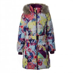 Huppa: YACARANDA Winter Girls' coat 300g