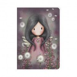 SANTORO: Gorjuss - A5 PVC Cover Notebook - Little Wings