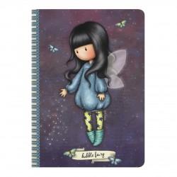 SANTORO: Gorjuss A5 piezīmju grāmatiņa - Bubble Fairy
