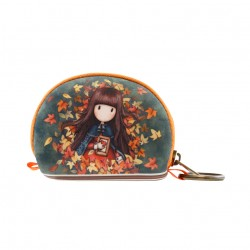 Santoro: Gorjuss - Mini Pouch - Autumn Leaves