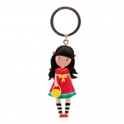Santoro: Gorjuss - Moulded Key Ring - Every Summer Has A Story
