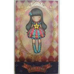 SANTORO: Gorjuss Circus - Matchbook Notebooks In A Display-Moon Buttons