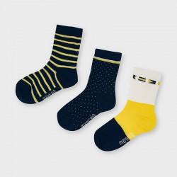 Mayoral: Tricolor socks 3 pcs set