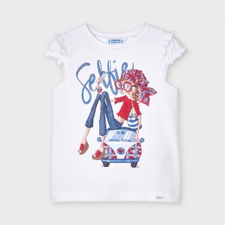 Mayoral: S/s doll shirt