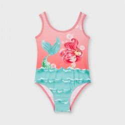 Mayoral: Graphic print swimsuit