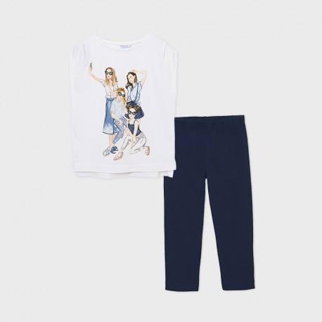 Mayoral: Girls leggings set
