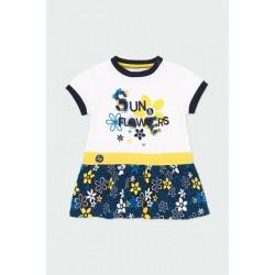 BOBOLI: Knit stretch dress for baby girl