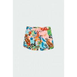 Boboli: Knit shorts flame for baby girl