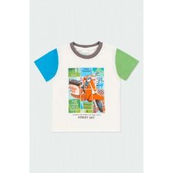 BOBOLI: Knit t-Shirt for baby boy