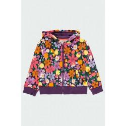 BOBOLI: Fleece jacket stretch for girl