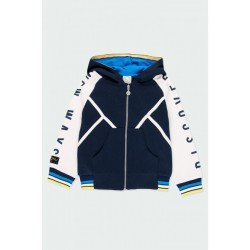 BOBOLI: Fleece jacket hooded for boy
