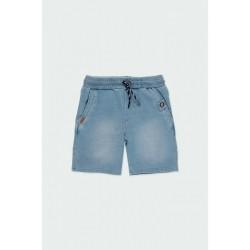 Boboli: Fleece bermuda shorts denim for boy