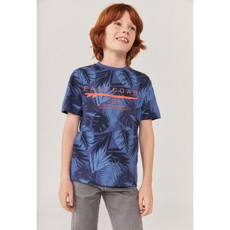 BOBOLI: Knit t-Shirt flame for boy