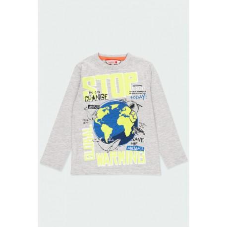 BOBOLI: Knit t-Shirt for boy