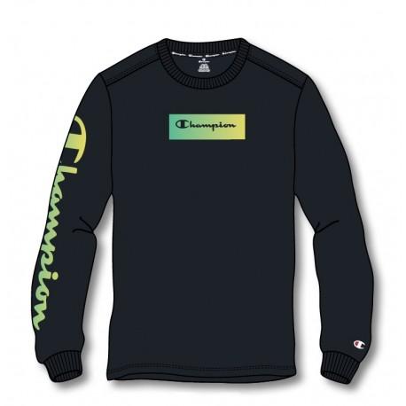 Champion: Crewneck Long Sleeve T-Shirt