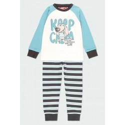 Boboli: Interlock pyjamas striped for boy