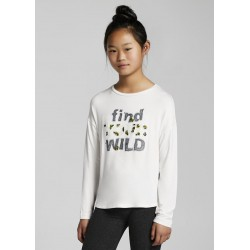 """Mayoral: L/s """"find your wild"""" t-shirt"""